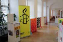 """Ausstellung """"Menschenrechte in die Rathäuser"""""""